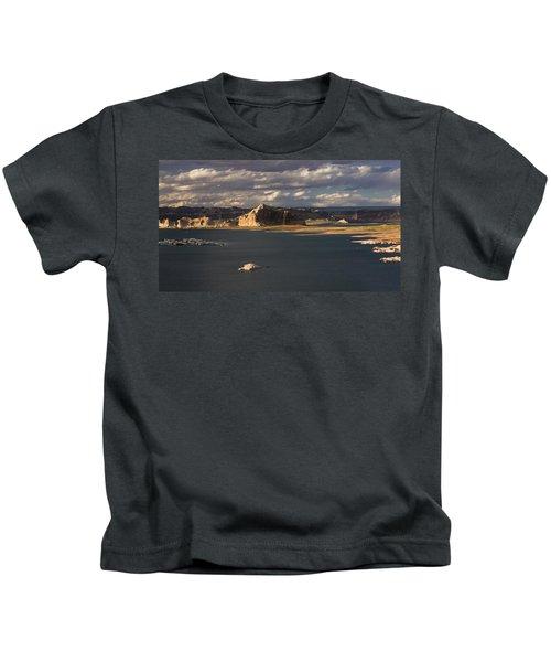 Castle Rock Sunset Kids T-Shirt