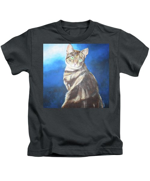 Cat Profile Kids T-Shirt