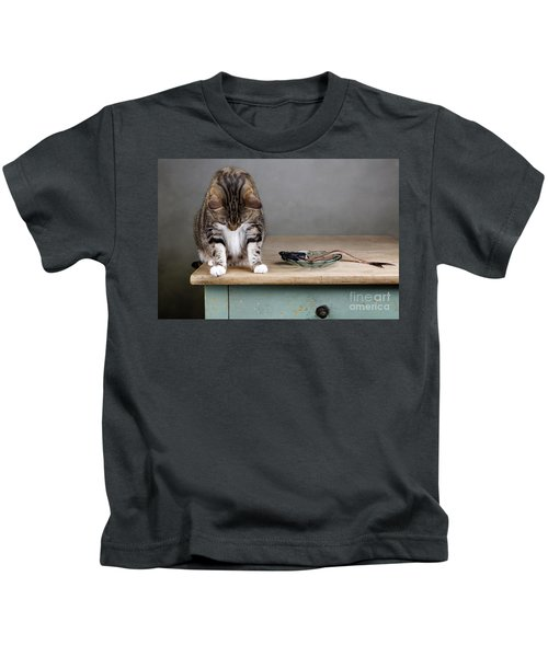 Caught In The Act Kids T-Shirt