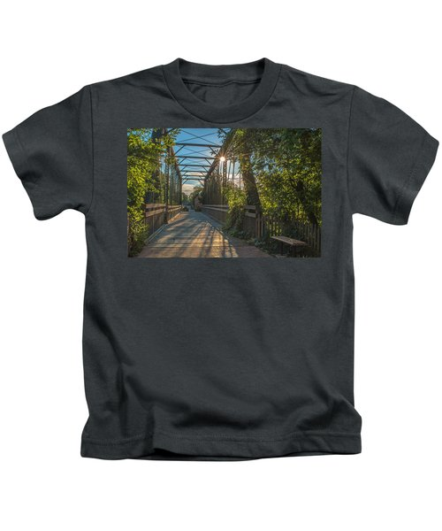 Cedarburg Footbridge Kids T-Shirt