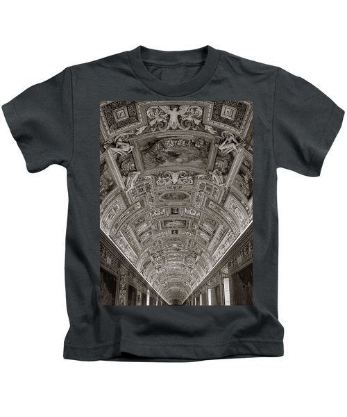 Ceiling Of Hall Of Maps Kids T-Shirt