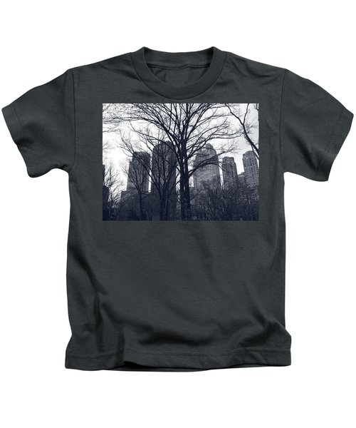 Central Park In New York Kids T-Shirt