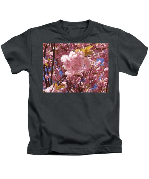 Cherry Trees Blossom Kids T-Shirt