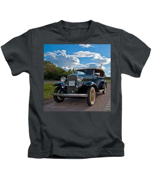 Chevrolet Confederate Ba Phaeton 1932 Kids T-Shirt