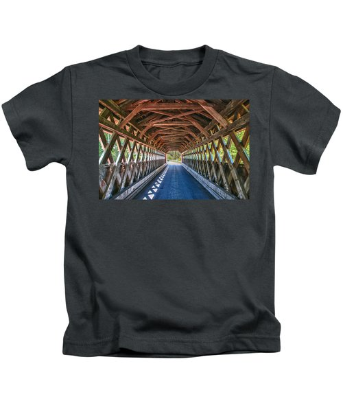 Chiselville Bridge Kids T-Shirt