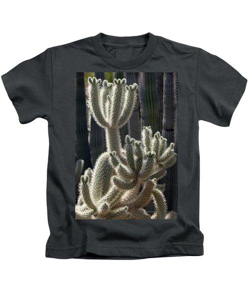 Cholla Cactus Arizona Kids T-Shirt