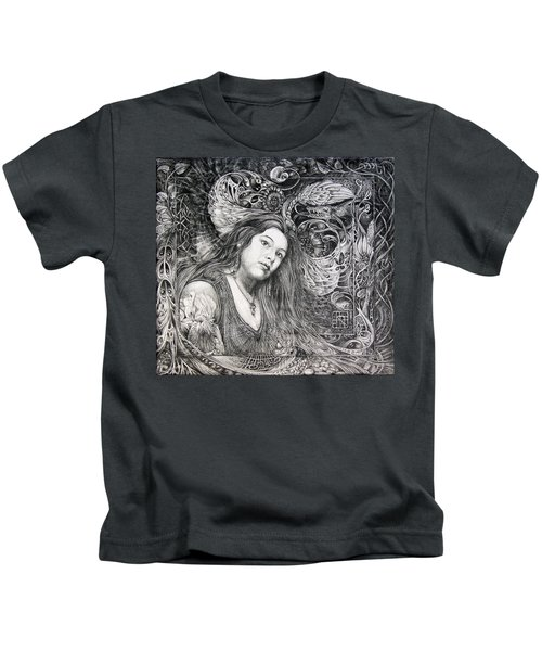 Christan Portrait Kids T-Shirt