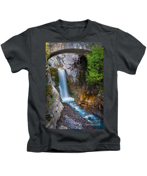 Christine Falls And Bridge Kids T-Shirt