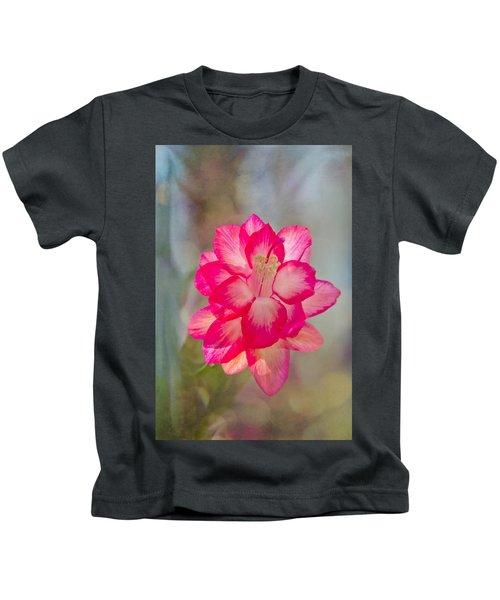 Christmas Cactus Bokeh Kids T-Shirt