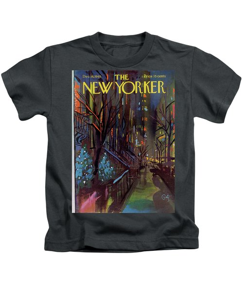Christmas In New York Kids T-Shirt
