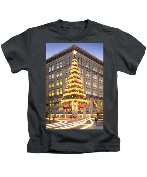 Christmas In Pittsburgh  Kids T-Shirt