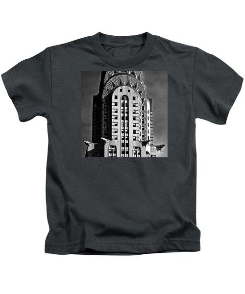 Chrysler Building Kids T-Shirt