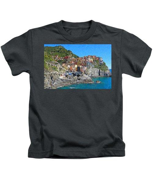 Cinque Terre Itl3403 Kids T-Shirt