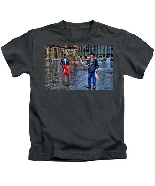 City Jugglers Kids T-Shirt