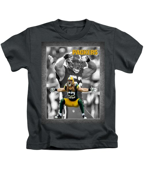 Clay Matthews Packers Kids T-Shirt