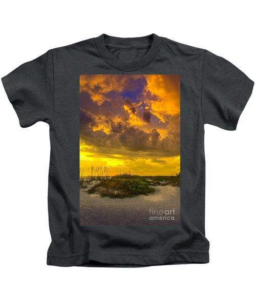 Clearing Skies Kids T-Shirt