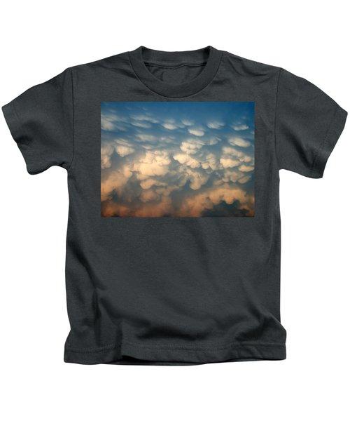 Cloud Texture Kids T-Shirt