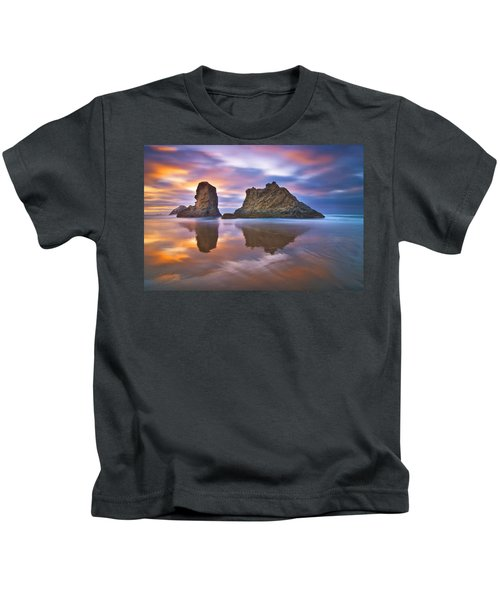 Coastal Cloud Dance Kids T-Shirt
