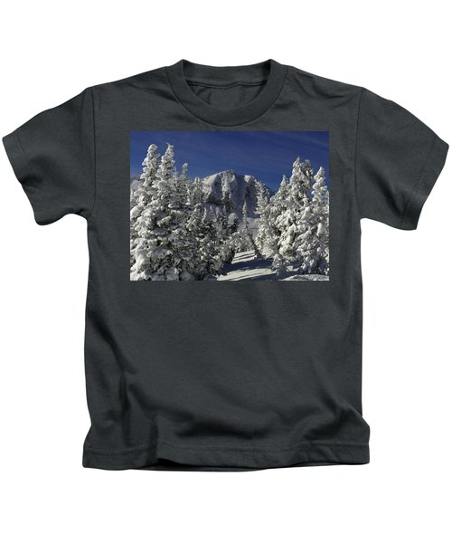 Cody Peak After A Snow Kids T-Shirt