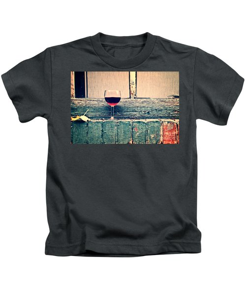 Cold Wine Kids T-Shirt