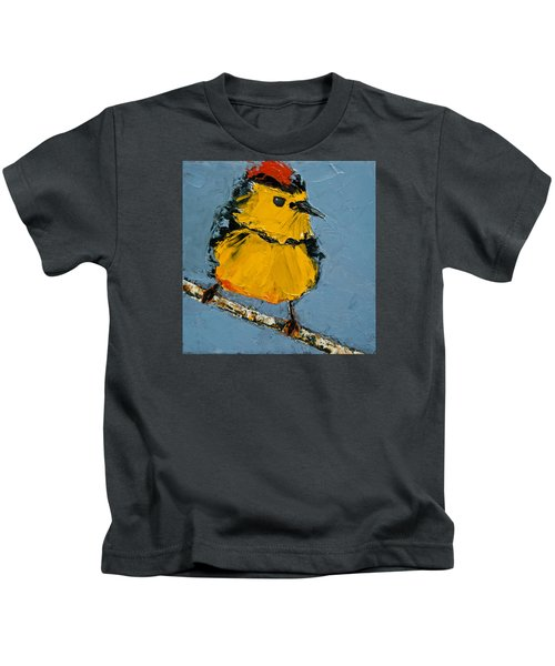 Collard Redstart Kids T-Shirt