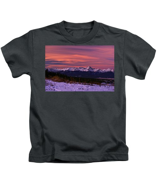 Color Of Dawn Kids T-Shirt