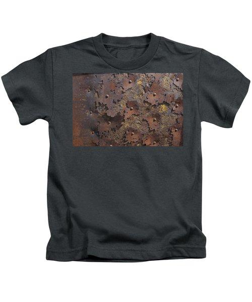 Color Of Steel 2 Kids T-Shirt