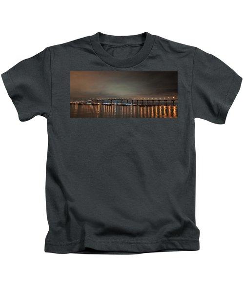 Coronado Bridge San Diego Kids T-Shirt
