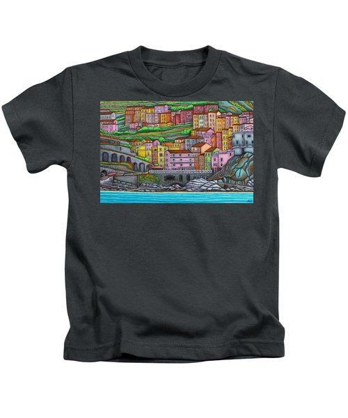 Colours Of Manarola Kids T-Shirt