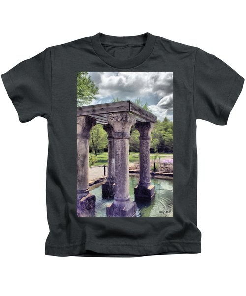 Columns In The Water Kids T-Shirt