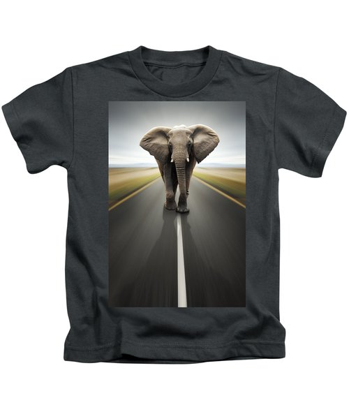 Heavy Duty Transport / Travel By Road Kids T-Shirt
