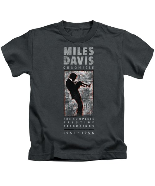 Concord Music - Miles Silhouette Kids T-Shirt