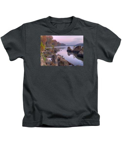 Congaree River At Dawn-1 Kids T-Shirt