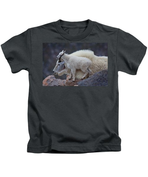 Contentment  Kids T-Shirt