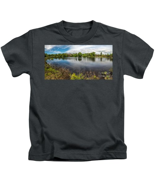 Cors Bodgynydd Reservoir Kids T-Shirt