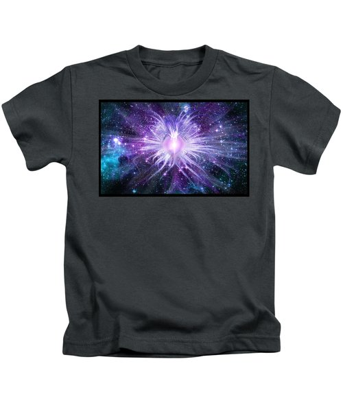 Cosmic Heart Of The Universe Kids T-Shirt