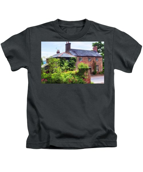 Cottage In England Kids T-Shirt