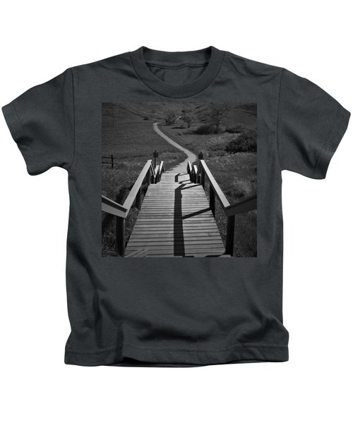 Coulee Stairs Kids T-Shirt