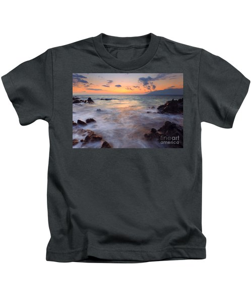 Covered By The Sea Kids T-Shirt