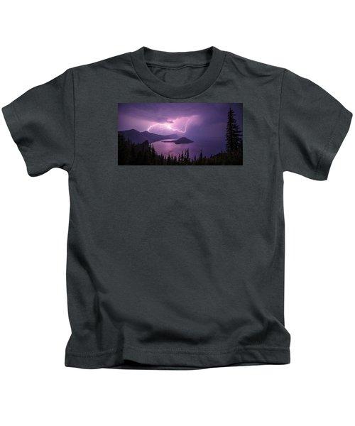 Crater Storm Kids T-Shirt