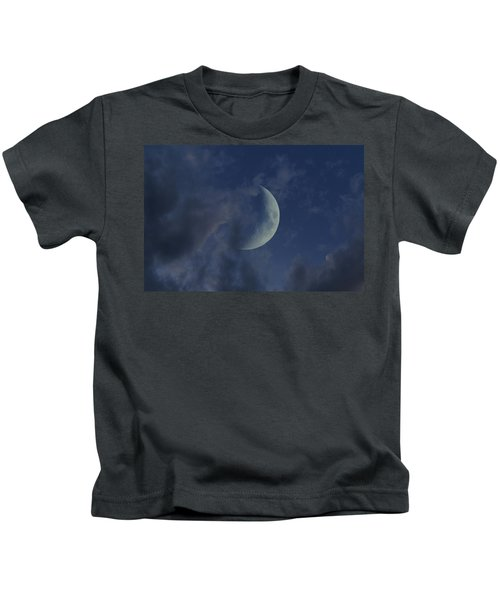 Crescent Moon Kids T-Shirt