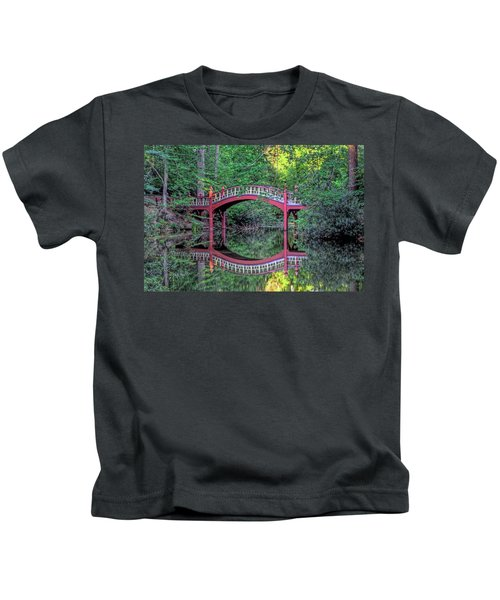 Crim Dell Bridge In Summer Kids T-Shirt