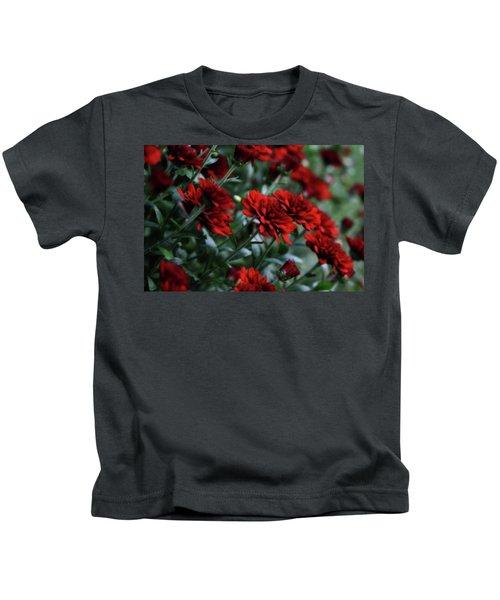 Crimson And Clover Kids T-Shirt