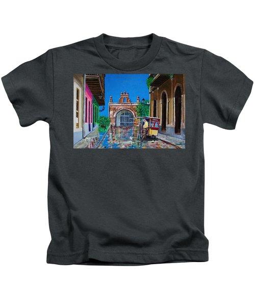 Capilla De Cristo - Old San Juan Kids T-Shirt