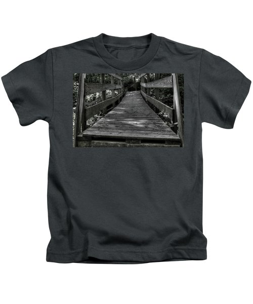 Crooked Bridge Kids T-Shirt