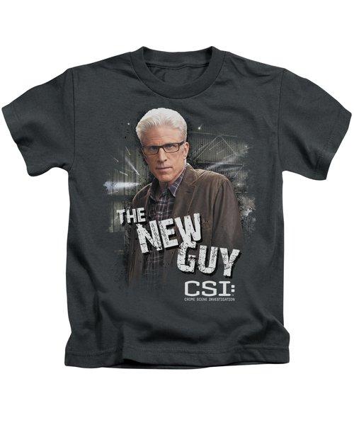 Csi - The New Guy Kids T-Shirt