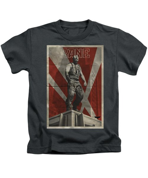 Dark Knight Rises - Bane Rooftop Poster Kids T-Shirt