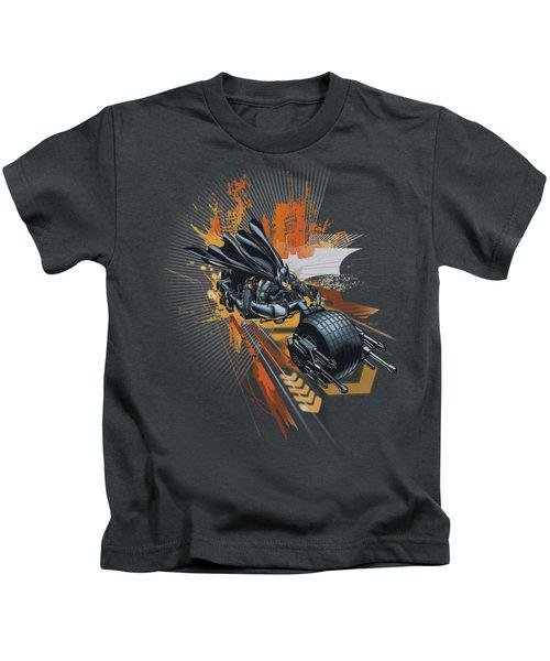 Dark Knight Rises - Batpod Kids T-Shirt