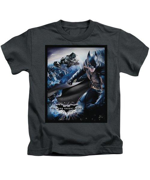 Dark Knight Rises - Batwing Rises Kids T-Shirt