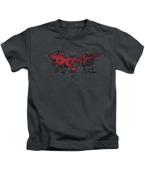 Dark Knight Rises - Fear Logo Kids T-Shirt